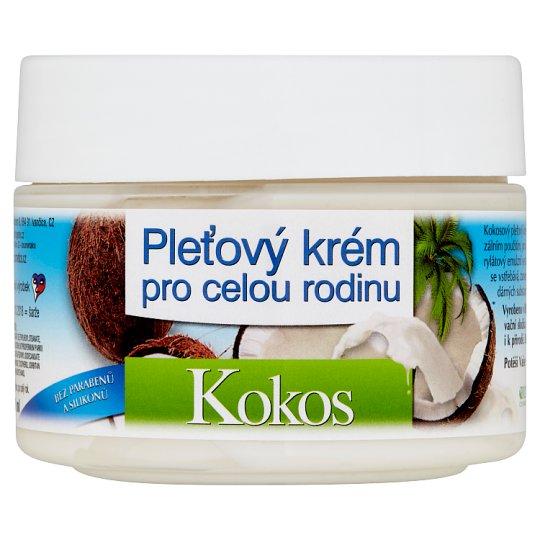 Bione Cosmetics Bio Kokos pleťový krém pre celú rodinu 260 ml