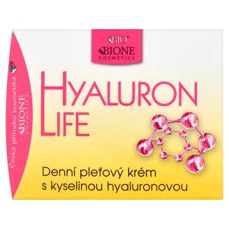 Bione Cosmetics Bio Hyaluron Life denný pleťový krém s kyselinou hyalurónovou 51 ml