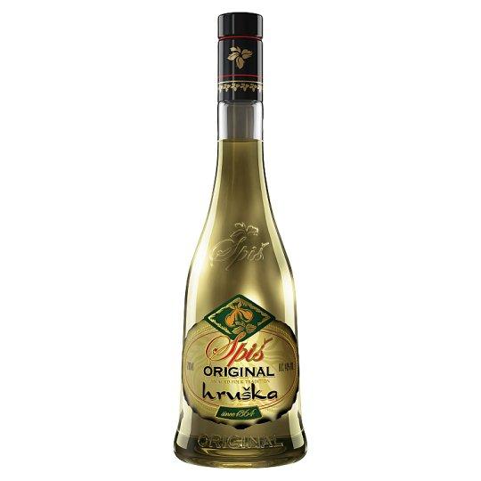 Spiš Original Pear Spirit 40 % 700 ml
