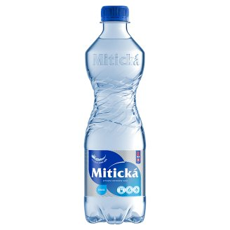 Mitická Natural Mineral Water Carbonated 0.5 L