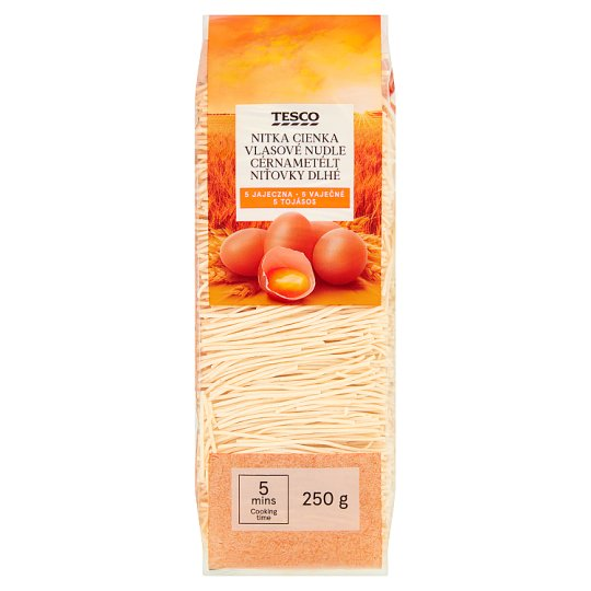 Tesco Soup Vermicelli Five Eggs 250 g