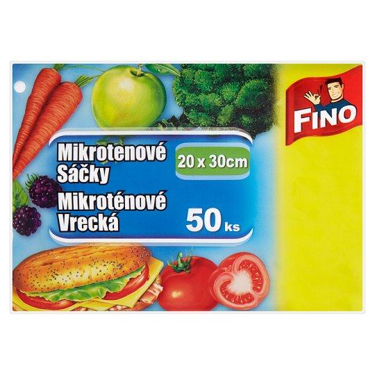 Fino Mikroténové vrecká 20 x 30 cm 50 ks