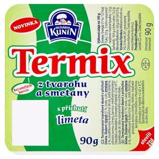 Mlékárna Kunín Termix s príchuťou limeta 90 g
