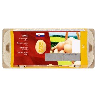 Tesco Čerstvé vajcia S 10 ks