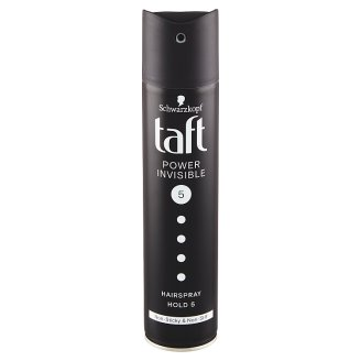Taft Invisible Power Hair Spray Mega Strong 5 250 ml