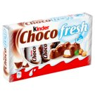 Kinder Choco Fresh Milk Chocolate with Milk and Hazelnut Filling 5 x 21 g