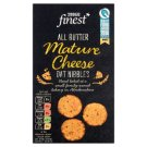 Tesco Finest All Butter Mature Cheese Oat Nibbles 125 g