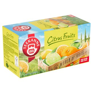 TEEKANNE Citrus Fruits, World of Fruits, 20 vrecúšok, 45 g