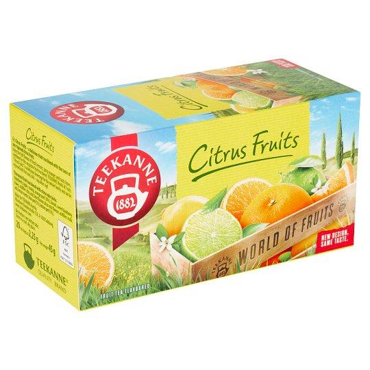 TEEKANNE Citrus Fruits, World of Fruits, 20 vrecúšok, 45 g