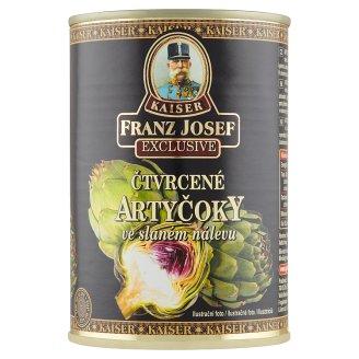 Kaiser Franz Josef Exclusive Artičoky štvrťky v slanom náleve 400 g