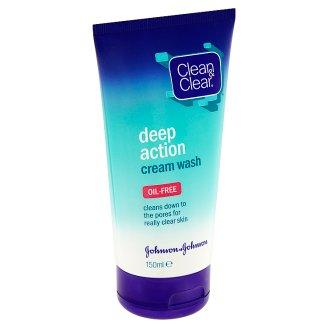 Clean & Clear Hĺbkovo čistiaca krémová emulzia 150 ml