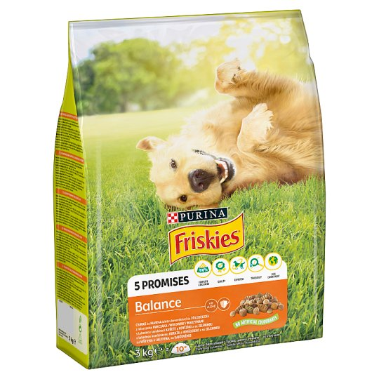 Friskies for Adult Dogs Balance with Chicken and Vegetables 3 kg