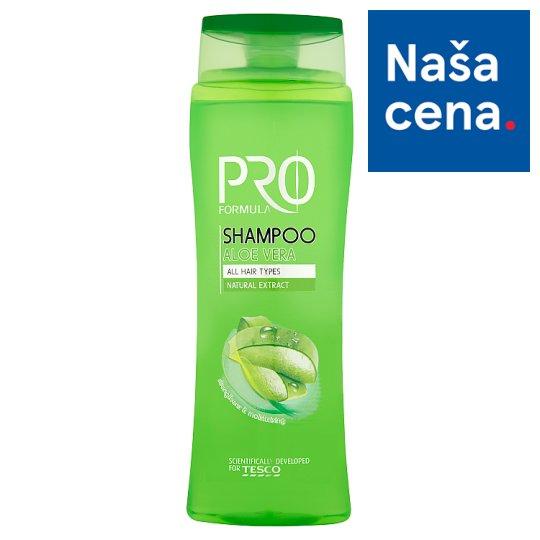 Tesco Pro Formula Aloe vera šampón 400 ml