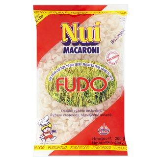 Fudo Nui Macaroni ryžové cestoviny mušličky 200 g