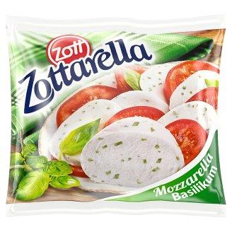 Zott Zottarella Mozzarella Cheese Flavoured with Basil 125 g
