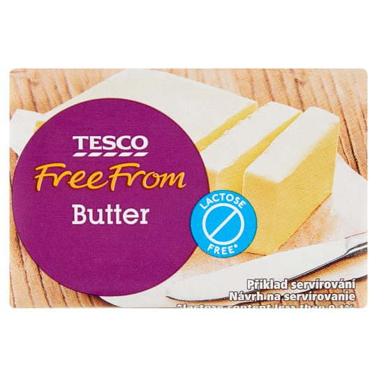 Tesco Free From Lactose Free Butter 100 g