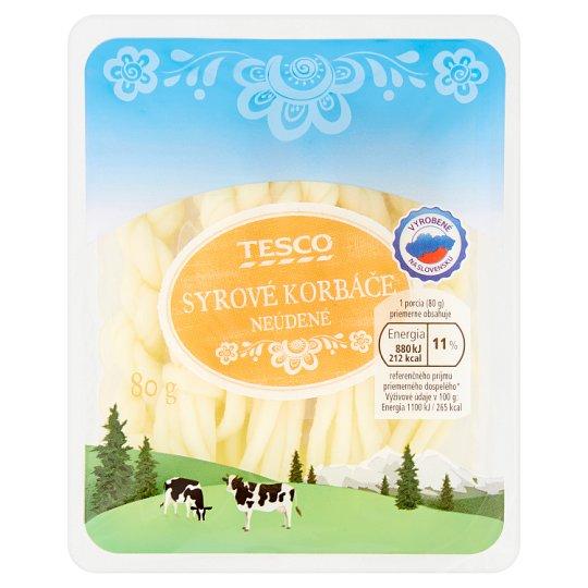Tesco Cheese Whips Unsmoked 80 g