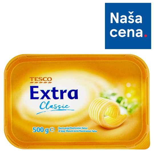 Tesco Extra Classic margarín 500 g