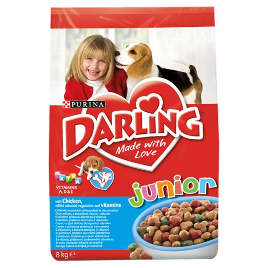 DARLING Junior with Chicken, Added Vegetables and Vitamins 8 kg