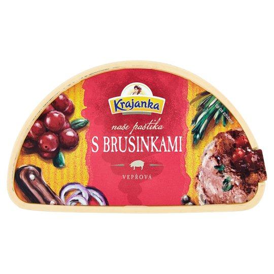 Krajanka Bruselská paštéta s brusnicami 100 g