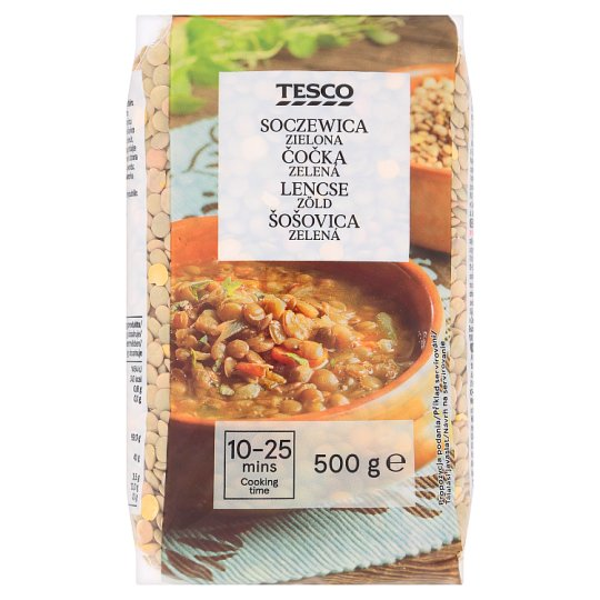 Tesco Green Lentils 500 g