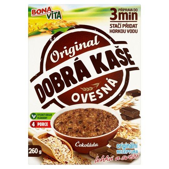 Bona Vita Dobrá kaše Original Chocolate Porridge 4 x 65 g