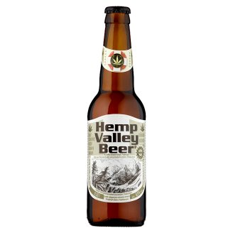 Hemp Valley Beer Pale Beer Flavoured with Hemp Blossom Aroma 0.33 L