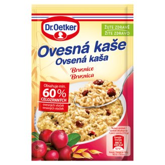 Dr. Oetker Cranberry Porridge in Powder 62 g