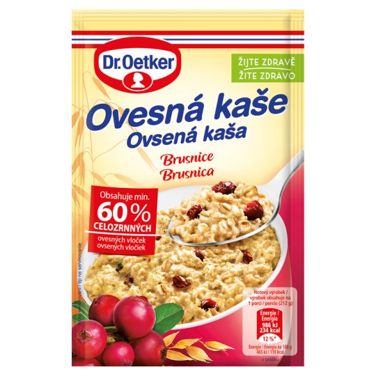 Dr. Oetker Cranberry Porridge in Powder 62 g