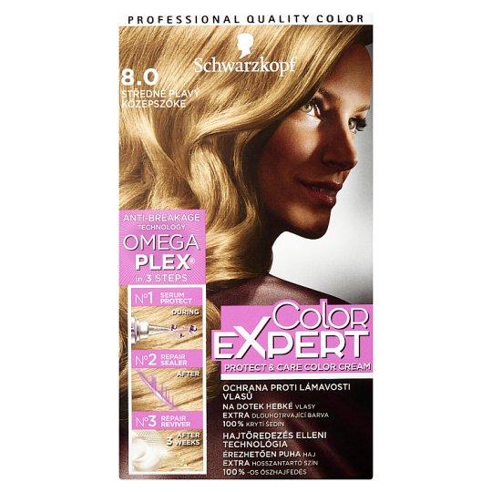 Schwarzkopf Color Expert farba na vlasy Stredneplavý 8.0