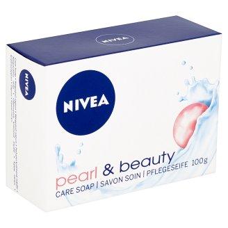Nivea Pearl & Beauty Ošetrujúce krémové mydlo 100 g