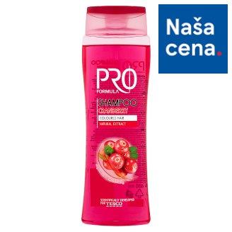 Tesco Pro Formula Cranberry šampón 400 ml