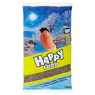 Happy Food Black Sunflower Additional Feed for Birds 500 g
