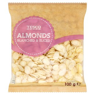 Tesco Almonds Blanched & Sliced 100 g