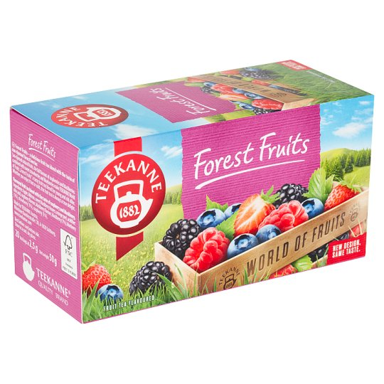 TEEKANNE Forest Fruits, World of Fruits, 20 Tea Bags, 50 g