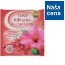 Tesco Ovocný čaj s ibištekom a príchuťou brusníc aromatizovaný porciovaný 20 x 2 g