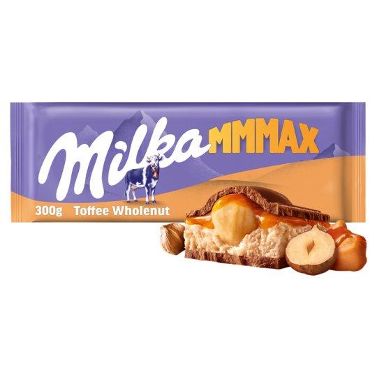 Milka Mmmax Toffee Whole Nuts 300 g