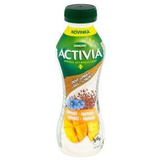 Danone Activia Mango - ananás s ľanovými semienkami jogurtový nápoj 310 g