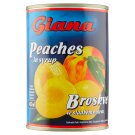 Giana Peaches in Syrup 410 g