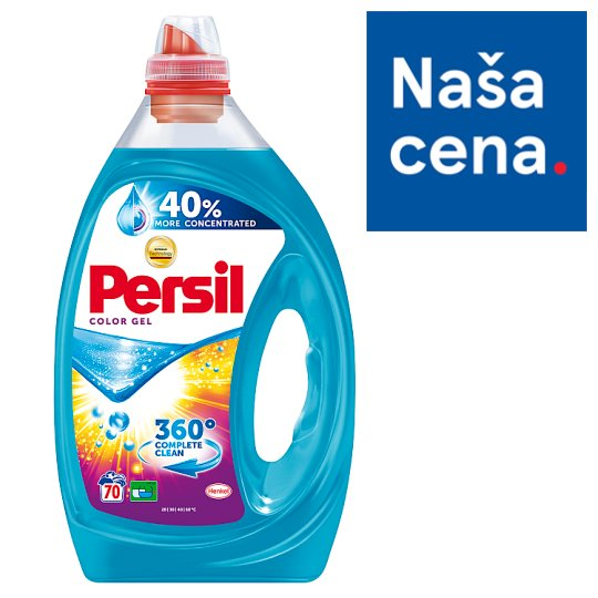 Persil 360° Complete Clean Color Gel Detergent 70 Washes 5.11 L