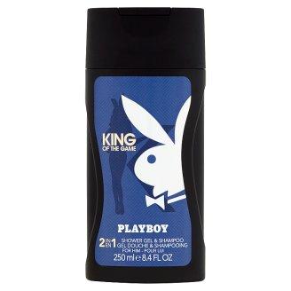 Playboy King of the Game 2 v 1 celotelový sprchový gél 250 ml