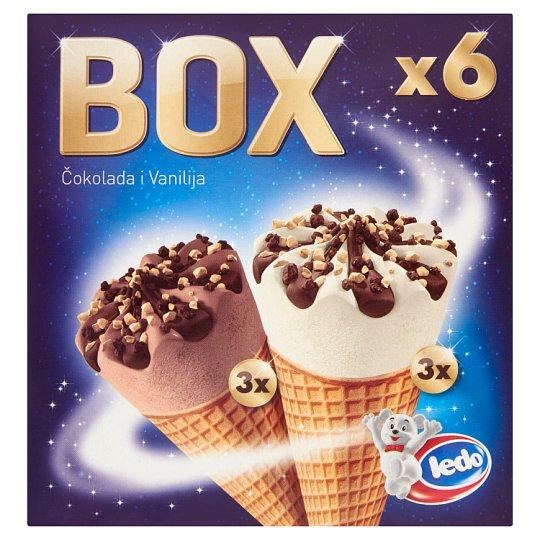 Ledo Box Ice Cream 6 x 120 ml