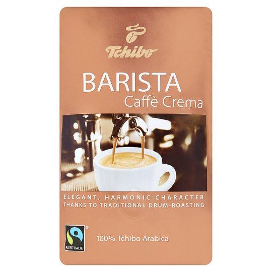 Tchibo Barista Caffè Crema pražená zrnková káva 500 g