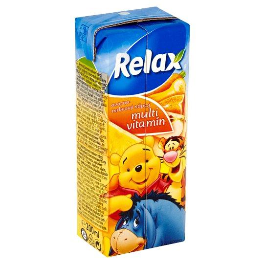 Relax Disney multivitamín 200 ml