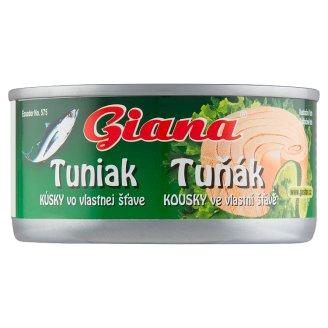 Giana Tuniak kúsky vo vlastnej šťave 185 g