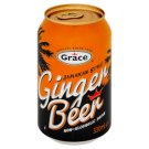 Grace Jamaican Style Soft Drink of Ginger-Flavoured Carbonated 330 ml