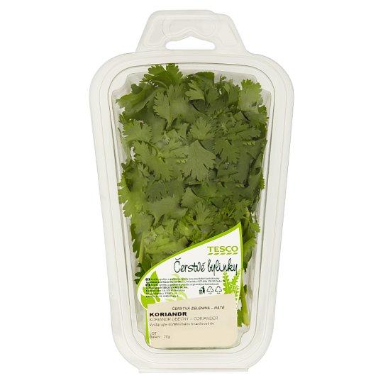 Tesco Čerstvé Bylinky Koriander siaty 20 g