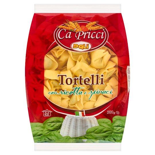 Dali Ca' Pricci Tortelli Fresh Egg Pasta with Ricotta and Spinach 500 g
