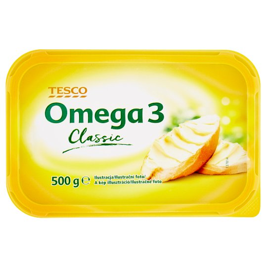 Tesco Omega 3 Classic Vegetable Fat Spread 500 g
