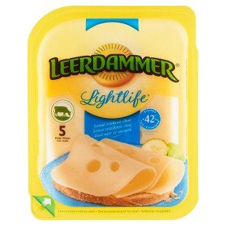 Leerdammer Lightlife Polotvrdý zrejúci polotučný porciovaný syr 5 plátkov 100 g